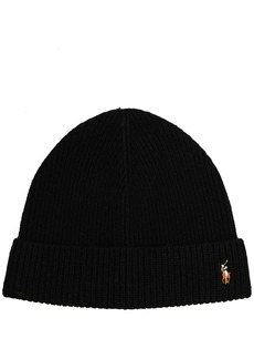 Ralph Lauren Polo ribbed-knit beanie