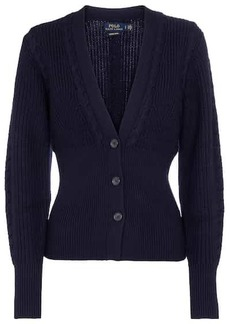 Ralph Lauren: Polo Ribbed-knit wool cardigan
