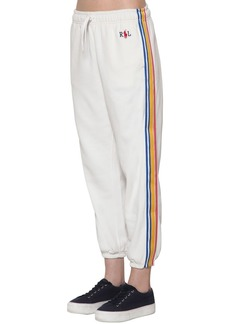Ralph Lauren: Polo Ribbon Side Band Cotton Blend Sweatpants