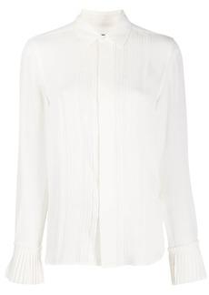 Ralph Lauren: Polo ruffled sleeve silk blouse