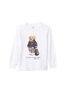 Ralph Lauren: Polo Rugby Bear Cotton Jersey Tee (Little Kids/Big Kids)