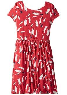 Ralph Lauren: Polo Sailboat Twist-Back Dress (Little Kids/Big Kids)