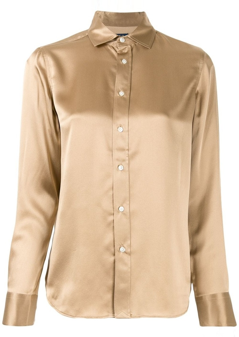 Ralph Lauren: Polo satin blouse