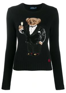 Ralph Lauren: Polo sequin-embellished Polo bear jumper