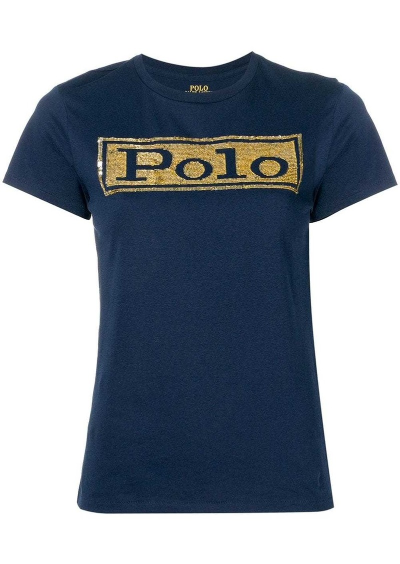 Ralph Lauren: Polo sequinned T-shirt