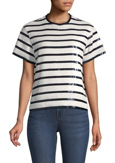 Ralph Lauren: Polo Sequins & Stripes Top