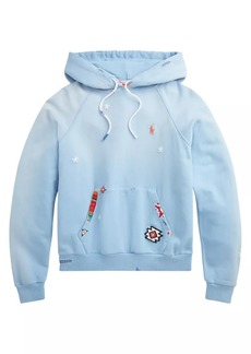 Ralph Lauren: Polo Shark Embroidered Patch Hoodie