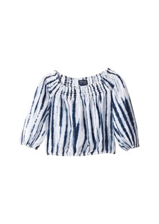 Ralph Lauren: Polo Shibori Linen Boho Top (Toddler)