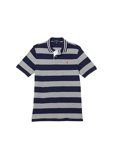 Ralph Lauren: Polo Short Sleeve Basic Mesh Polo (Big Kids)
