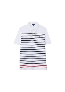 Ralph Lauren: Polo Short Sleeve Mesh Polo (Big Kids)