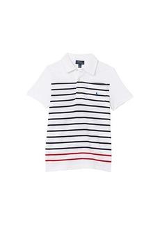 Ralph Lauren: Polo Short Sleeve Mesh Polo (Little Kids/Big Kids)