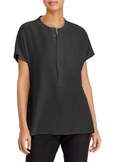 Ralph Lauren: Polo Short-Sleeve Silk Blouse