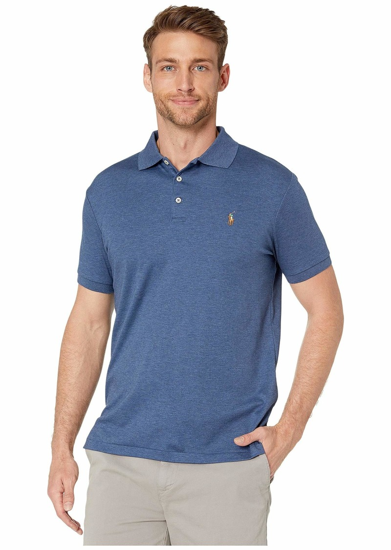 Ralph Lauren Polo Short Sleeve Solid Classic Fit Soft Touch - Custom Slim