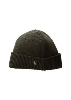 Ralph Lauren Polo Signature Merino Cuff Hat 189e33a0ace5