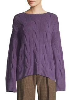 Ralph Lauren: Polo Wool & Cashmere Cableknit Sweater