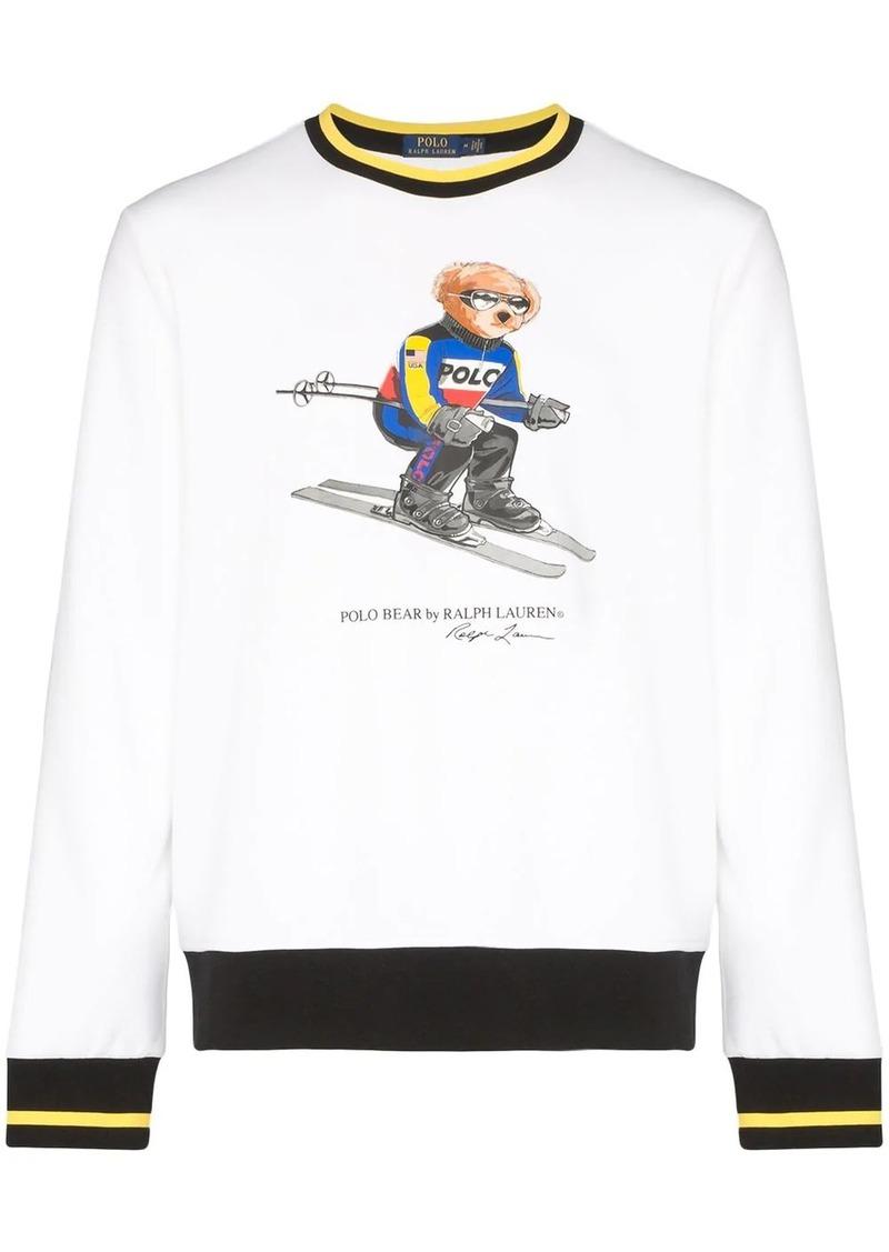 Ralph Lauren Polo ski bear print sweatshirt