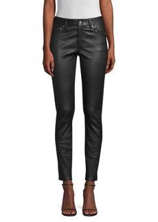 Ralph Lauren: Polo Skinny Leather Leggings