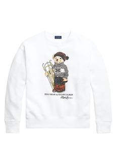 Ralph Lauren: Polo Sled Polo Bear Long-Sleeve Cotton Sweatshirt