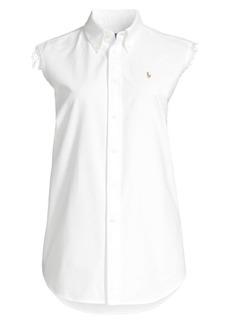 Ralph Lauren: Polo Sleeveless Button-Down Shirt