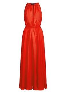 Ralph Lauren: Polo Sleeveless Halter Maxi Dress