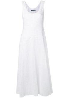 2d5ad5b6ba19 Ralph Lauren: Polo Alyah Pleated Sleeveless Handkerchief Midi Dress ...