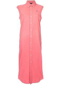 Ralph Lauren: Polo sleeveless shirt dress