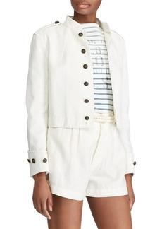 Ralph Lauren: Polo Slim Fit Cotton Officer's Jacket