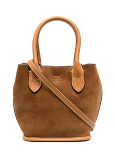 Ralph Lauren: Polo small suede tote bag