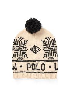 Ralph Lauren Polo Snowflake Pom-Pom Hat