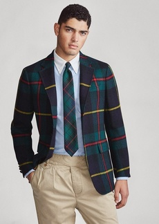 Ralph Lauren Polo Soft Tartan Sport Coat
