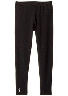 Ralph Lauren: Polo Solid Jersey Leggings (Little Kids/Big Kids)