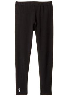 Ralph Lauren: Polo Solid Jersey Leggings (Little Kids/Big Kids)