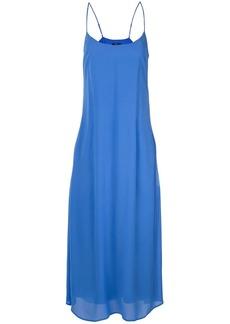 Ralph Lauren: Polo spaghetti strap midi dress