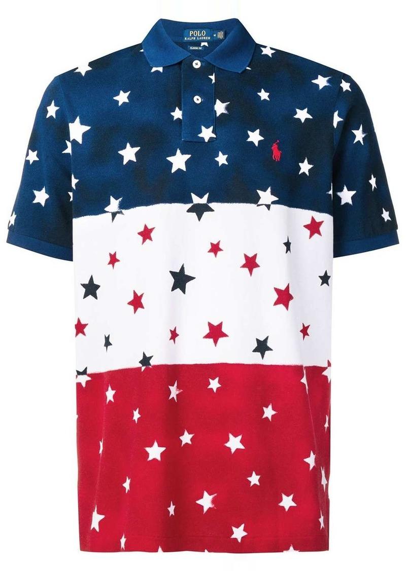 Ralph Lauren Polo star printed polo shirt