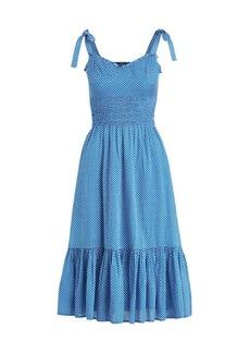 Ralph Lauren: Polo Star Tie Mid-Length Dress