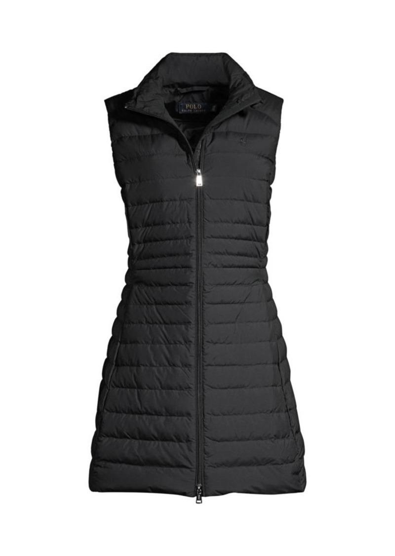 Ralph Lauren: Polo Straight-Fit Down A-Line Vest