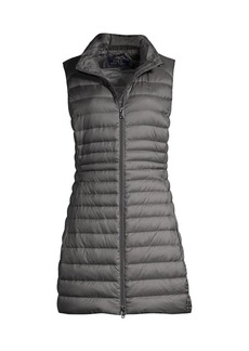 Ralph Lauren: Polo Straight-Fit Down A-Line Vest