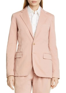 Ralph Lauren: Polo Stretch Cotton Blazer