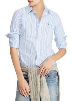 Ralph Lauren: Polo Stretch Slim Striped Shirt