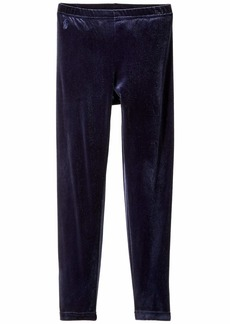 Ralph Lauren: Polo Stretch Velvet Leggings (Little Kids/Big Kids)