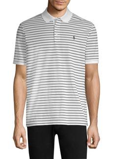 Ralph Lauren Polo Stripe Cotton Polo Shirt