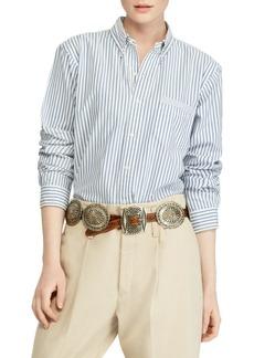 Ralph Lauren: Polo Stripe Cotton Shirt