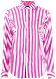 Ralph Lauren: Polo stripe print shirt