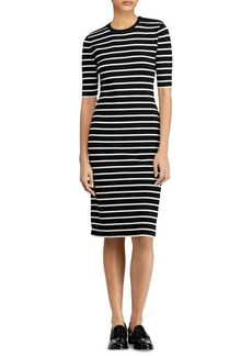 Ralph Lauren: Polo Stripe Sweater Dress