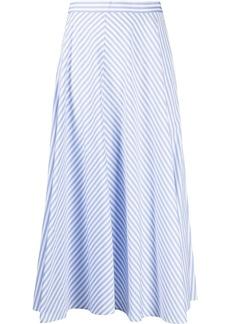 Ralph Lauren: Polo striped A-line skirt