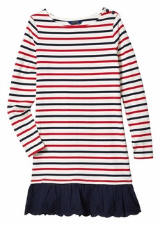 Ralph Lauren: Polo Striped Cotton Jersey Dress (Little Kids/Big Kids)