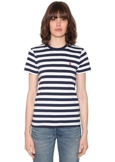 Ralph Lauren: Polo Striped Cotton Jersey T-shirt