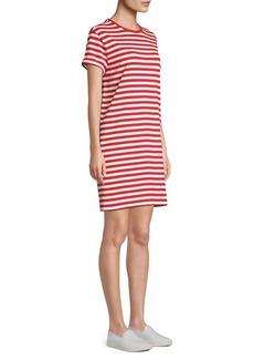 Ralph Lauren: Polo Striped Cotton Jersey T-Shirt Dress