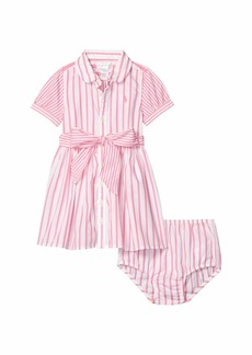 Ralph Lauren: Polo Striped Dress & Bloomer (Infant)