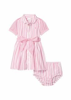 Ralph Lauren: Polo Striped Dress & Bloomer (Infant)